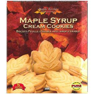 (まとめ買い)メープルシロップ クリームクッキー 350g×10セット