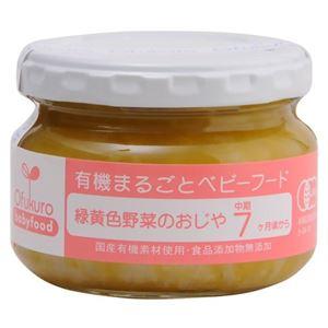 (まとめ買い)有機まるごとベビーフード 緑黄色野菜のおじや 100g 7ヶ月頃から×12セット