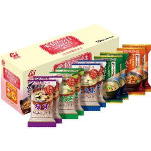(まとめ買い)アマノフーズ 愛情そのままおみそ汁 5種セット 10袋入×15セット