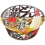 (まとめ買い)【ケース販売】日清のどん兵衛 肉うどん 87g×12個×3セット