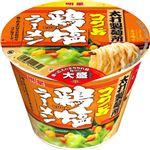 (まとめ買い)【ケース販売】太打製麺所 大盛 コク旨鶏塩ラーメン 106g×12個×5セット