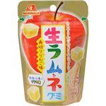 (まとめ買い)【ケース販売】森永製菓 生ラムネグミ(角切りりんご) 37g×10個×19セット