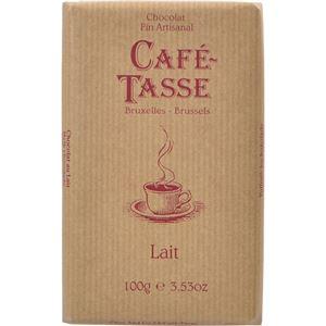 (まとめ買い)カフェタッセ ミルクチョコレート 100g×10セット