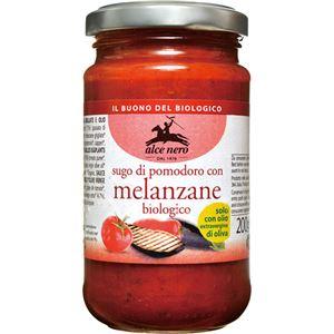 (まとめ買い)アルチェネロ 有機パスタソース・トマト&焼きナス 200g×8セット