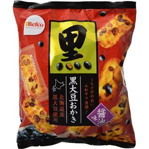 (まとめ買い)【期間限定】【ケース販売】Befco 黒大豆おかき 醤油味 88g×12袋×2セット