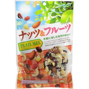 (まとめ買い)共立食品 ナッツ&フルーツ(トレイルミックス)徳用 140g×20セット