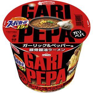 (まとめ買い)【ケース販売】エースコック スーパーカップ1.5倍 ガリペパ 豚骨醤油ラーメン 128g×12個×3セット