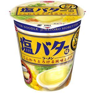 (まとめ買い)【ケース販売】エースコック じわとろ 塩バター味ラーメン 89g×12個×3セット