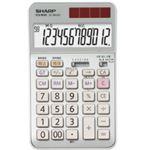 【訳あり・在庫処分】 シャープ SHARP 実務電卓 12桁 ナイスサイズタイプ EL-N942-CX 1台