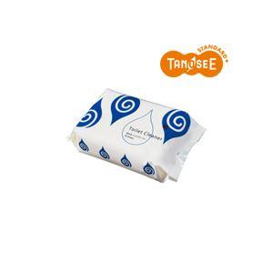 (まとめ)TANOSEE 流せるトイレクリーナー 30枚入×30パック
