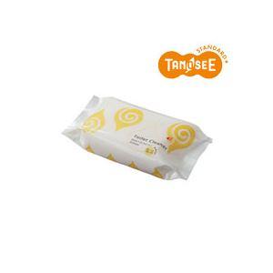 (まとめ)TANOSEE 流せるトイレクリーナー グレープフルーツの香り 30枚入×30パック