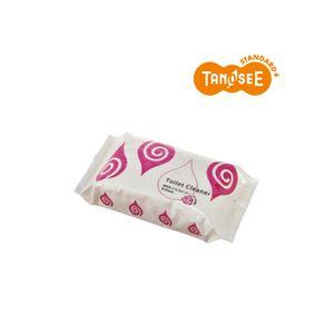 (まとめ)TANOSEE 流せるトイレクリーナー ローズの香り 30枚入×30パック