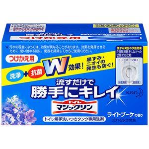 (まとめ) 花王 トイレマジックリン 流すだけで勝手にキレイ ライトブーケの香り つけかえ用 80g 1個 【×10セット】