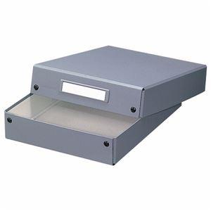 (まとめ) ライオン事務器 デスクトレー A4グレー DT-13 1個 【×5セット】