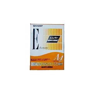 (まとめ)シャープ 感熱記録紙 エコノミータイプA4 WP4AS5 1冊(100枚) 【×10セット】