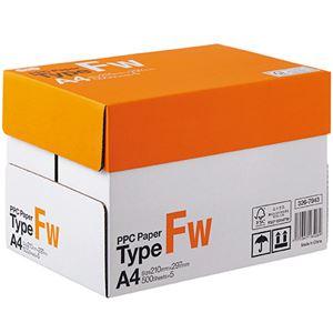 (まとめ)TANOSEE PPC PaperType FW A4 PPCFW-A4-5 1箱(2500枚:500枚×5冊) 【×3セット】