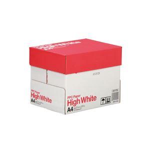 (まとめ)PPC PAPER High WhiteA4 1箱(2500枚:500枚×5冊) 【×3セット】