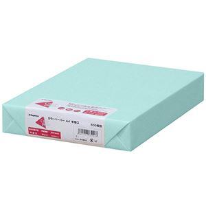 (まとめ)長門屋商店 Color Paper A4中厚口 空 ナ-3262 1冊(500枚) 【×3セット】