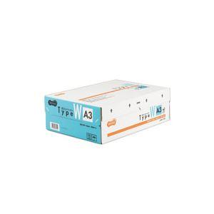 (まとめ)TANOSEE αエコペーパー タイプWA3 1箱(1500枚:500枚×3冊) 【×3セット】