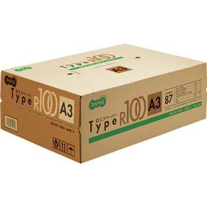 (まとめ)TANOSEE αエコペーパータイプR100 A3 1箱(1500枚:500枚×3冊) 【×2セット】