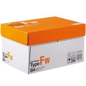 (まとめ)TANOSEE PPC PaperType FW B4 1箱(2500枚:500枚×5冊) 【×2セット】