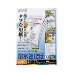 (まとめ)コクヨカラーレーザー&カラーコピー用紙(耐水強化紙) A4 中厚口 LBP-WP210 1冊(50枚) 【×3セット】