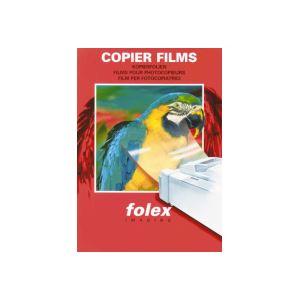 (まとめ)フォーレックス OHPフィルムPPC(普通紙複写機)用 クリア B5 X3B5P 1冊(20枚) 【×10セット】