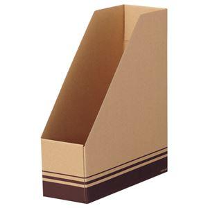 TANOSEE ボックスファイルA4タテ 背幅100mm ブラウン 1セット(50冊:5冊×10パック)