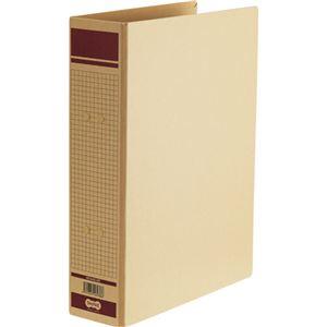 TANOSEE 保存用ファイル(片開き)A4タテ 500枚収容 50mmとじ 赤 1セット(36冊)