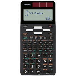 (まとめ)シャープ 関数電卓 ピタゴラススタンダードモデル 10桁 ハードケース付 EL-509T-WX 1台【×3セット】