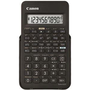 (まとめ)キヤノン 関数電卓 F-605G仮数10桁、指数2桁 関数機能(154種類)、ハードカバー付 0891C003 1台【×5セット】