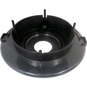 (まとめ)TRUSCO 業務掃除機乾湿両用クリーナーTVC134A用モーター台(黒) 5606101000 1台【×3セット】