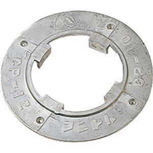 (まとめ)山崎産業 コンドル(ポリシャー用備品)プレート 8インチ E-14-8 1個【×3セット】