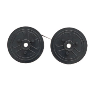 (まとめ)カシオ 電子レジスター用 インクリボン黒 240ER専用 RAP-01B 1個【×10セット】