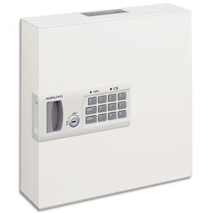 コクヨUSBメモリーボックス(KEYSYS) キーボックス兼用 テンキータイプ 32個吊 KFB-UTL32 1個