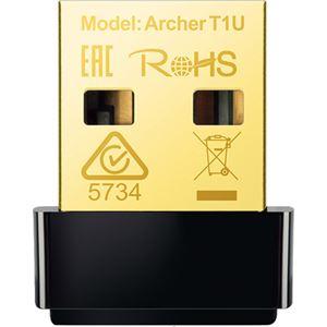 (まとめ)TP-Link AC450 nano無線LAN子機 USBアダプタ Archer T1U 1個【×3セット】