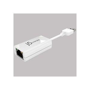 (まとめ)j5 Create USB2.0イーサネットアダプター JUE120 1個【×3セット】