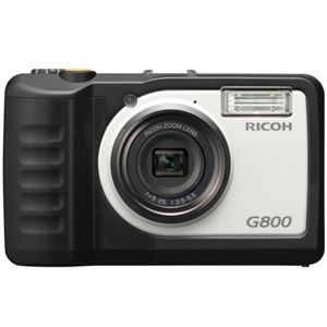 リコー 防水・防塵・業務用デジタルカメラG800 安心保証モデル 162053 1台