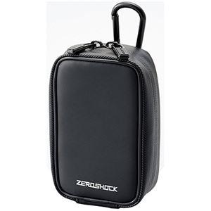 (まとめ)エレコム ZEROSHOCKカメラケースW83×D50×H135mm ブラック ZSB-DG014BK 1個【×3セット】