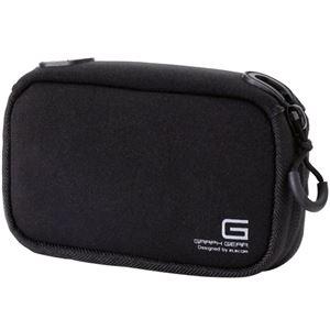 (まとめ)エレコム デジタルカメラケースGRAPH GEAR ソフトタイプ ブラック DGB-062BK 1個【×3セット】