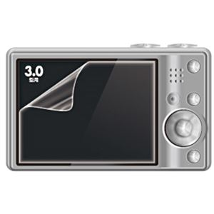 (まとめ)サンワサプライ 液晶保護反射防止フィルム3.0型 DG-LC9 1枚【×10セット】