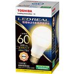 (まとめ)東芝ライテック LED電球 一般電球形60W形相当 7.8W E26 電球色 LDA8L-G/60W 1個【×5セット】
