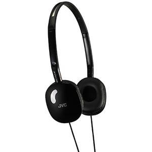 (まとめ)JVC ステレオヘッドホン ブラックHA-S160-B 1個【×3セット】