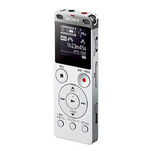 ソニー ステレオICレコーダーFMチューナー付 4GB シルバー ICD-UX560F/S 1台