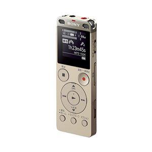 ソニー ステレオICレコーダーFMチューナー付 4GB ゴールド ICD-UX560F/N 1台