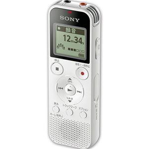 ソニー ステレオICレコーダー 4GBホワイト ICD-PX470F/W 1台