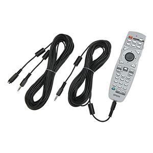 (まとめ)エプソン ワイヤード リモコンケーブル10m ELPKC28 1セット(2本)【×2セット】