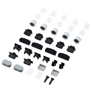 (まとめ)サンワサプライ AVジャックキャップ12種類 TVTK-CAPSET1 1セット【×3セット】