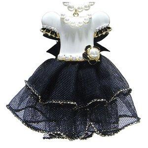 大人可愛い♪ドレスアップチャームネックレス/ホワイト