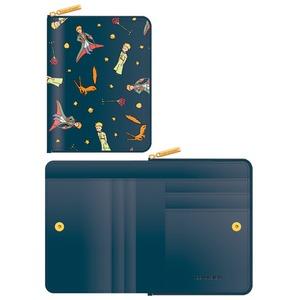 7321Design(7321デザイン) 可愛いギフトボックスに入った小銭入れ付ミニ財布/星の王子様/マント(ネイビー)
